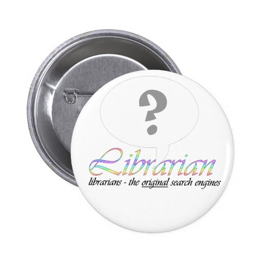 Ask your local librarian pin
