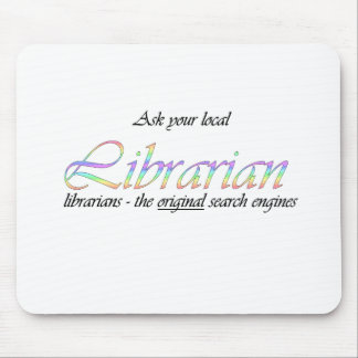 Ask your local librarian mouse pad