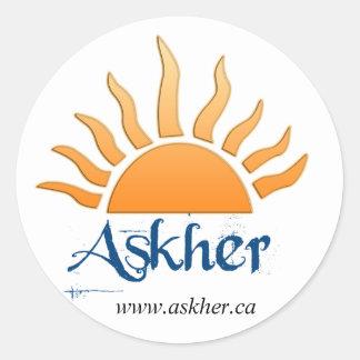 askher sticker