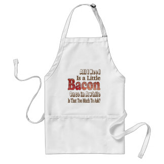 Asking for Bacon Standard Apron