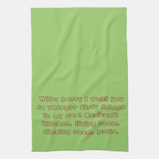 Asking for trouble towell hand towels