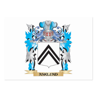 Asklund Coat Of Arms Business Card Templates