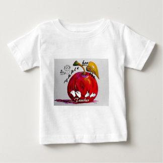 ASL Apple for the Teacher Baby T-Shirt