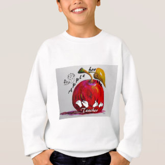 ASL Apple for the Teacher Sweatshirt