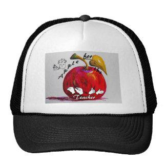 ASL Apple for the Teacher Trucker Hat