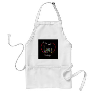 ASL As You Wish My Darling Standard Apron