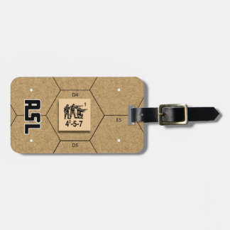 ASL British Infantry Luggage Tag