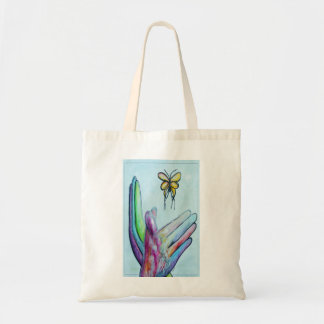 ASL Butterfly Tote Bag