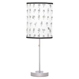 ASL Chart Lamp