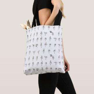 ASL Chart Tote Bag