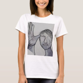 ASL Father in Denim Colors T-Shirt