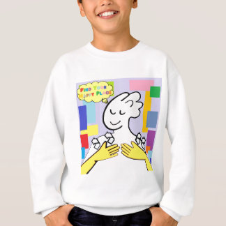 ASL Find Your Happy Place Sweatshirt