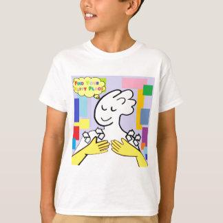 ASL Find Your Happy Place T-Shirt