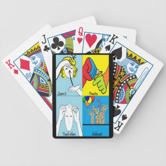 ASL Four Steps to Success Bicycle Playing Cards