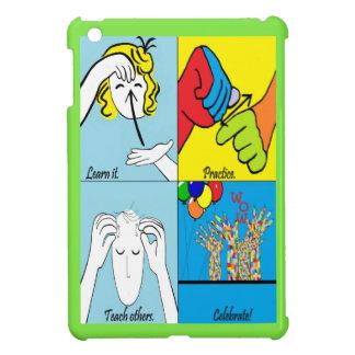 ASL Four Steps to Success iPad Mini Cases