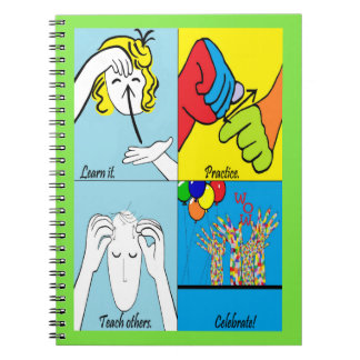 ASL Four Steps to Success Notebooks