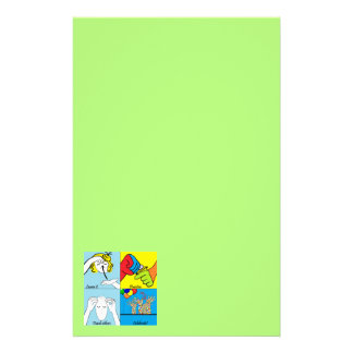 ASL Four Steps to Success Stationery