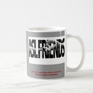 ASL FRIENDS GROUP JAVA COFFEE MUG