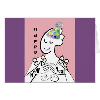 ASL Happy New Year Card