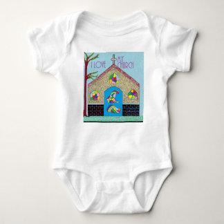 ASL I Love my Church Baby Bodysuit