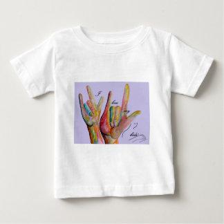 ASL I love my Kids Baby T-Shirt