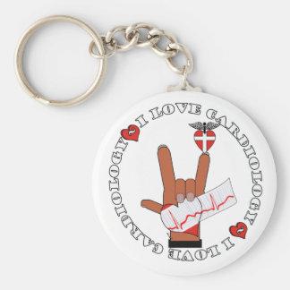 ASL I Love Sign CARDIOLOGY Keychain