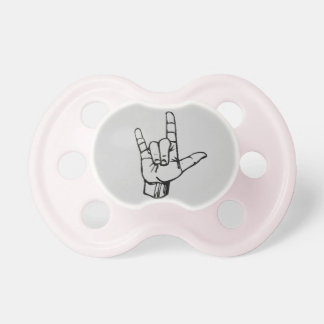 ASL ILY Pacifier