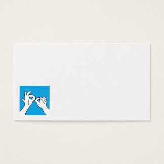 ASL Interpret Business Card