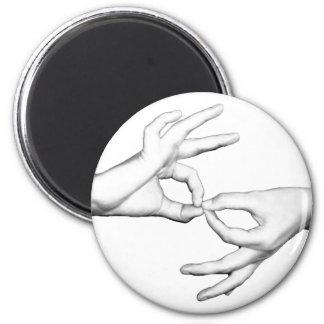 ASL Interpreter Magnet