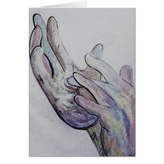 ASL Jesus Denim Coloring Card