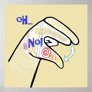 ASL Oh NO Poster