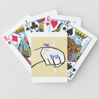 ASL Oh YES Bicycle Playing Cards