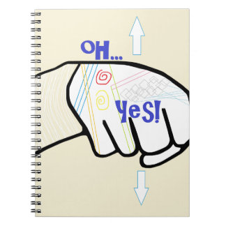 ASL Oh YES Notebooks