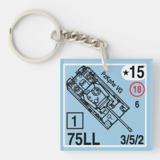 ASL Panzer VG Panther Keychain Fob
