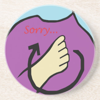 ASL Sorry Drink Coasters