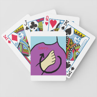 ASL Sorry Poker Deck