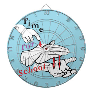ASL Time for School Dartboard