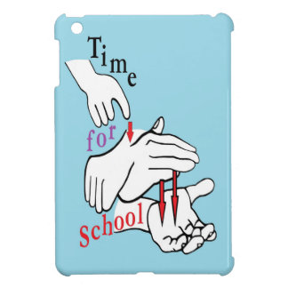 ASL Time for School iPad Mini Cover