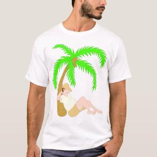 Asleep Under a Palm Tree T-Shirt