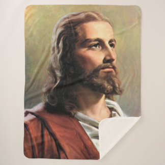 ASLEEP with JESUS Sherpa Blanket