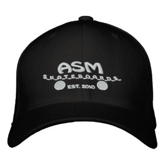 ASM Skateboards Flexfit Logo Hat Embroidered Hat