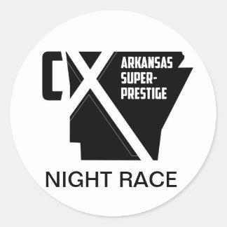 ASP Night Race Classic Round Sticker