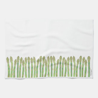 Asparagus Kitchen Towel