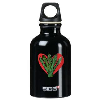 asparagus lover I love asparagus Water Bottle