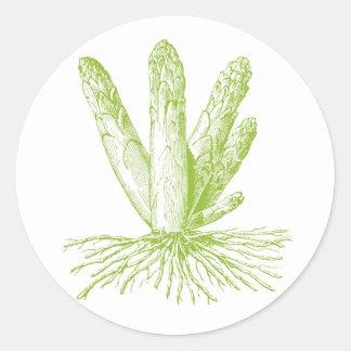 Asparagus Stickers