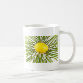 Asparagus towards Lemon Coffee Mug