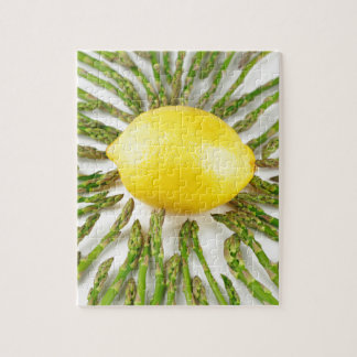 Asparagus towards Lemon Jigsaw Puzzle