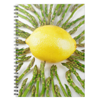 Asparagus towards Lemon Notebooks