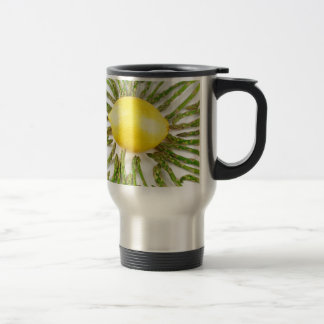 Asparagus towards Lemon Travel Mug