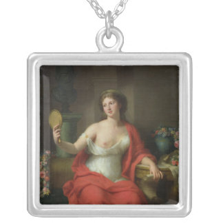Aspasia, 1794 silver plated necklace